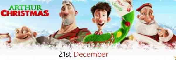 Arthur Christmas Poster.Hylands Christmas Drive In Arthur Christmas Hylands Estate