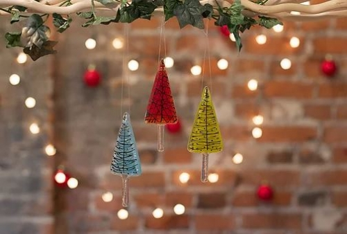 Christmas Decorations.Make Your Own Glass Keepsake Christmas Decorations Hylands Estate